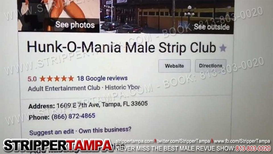 Finding male strip clubs in Tampa,